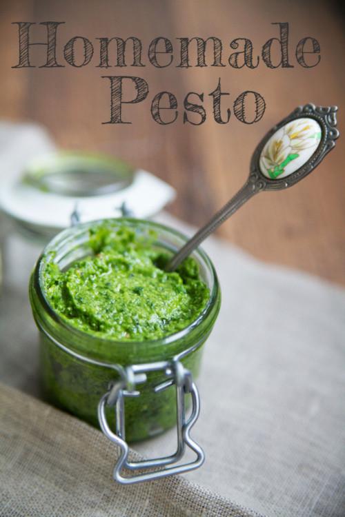 Bild für Homemade Pesto