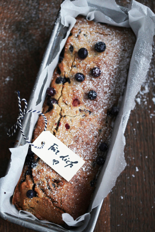 Picture for Healthy Blueberry and Buckwheat Cake