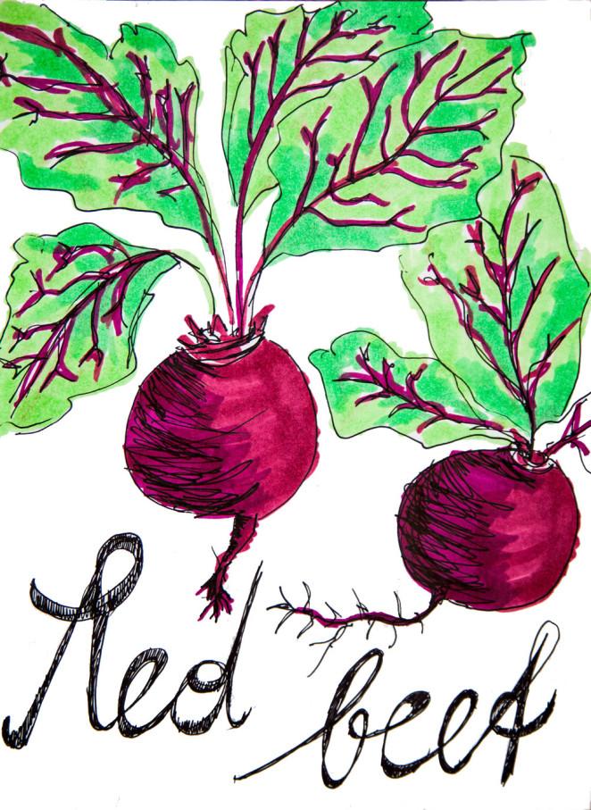 So rot, so gesund – Rote Rüben