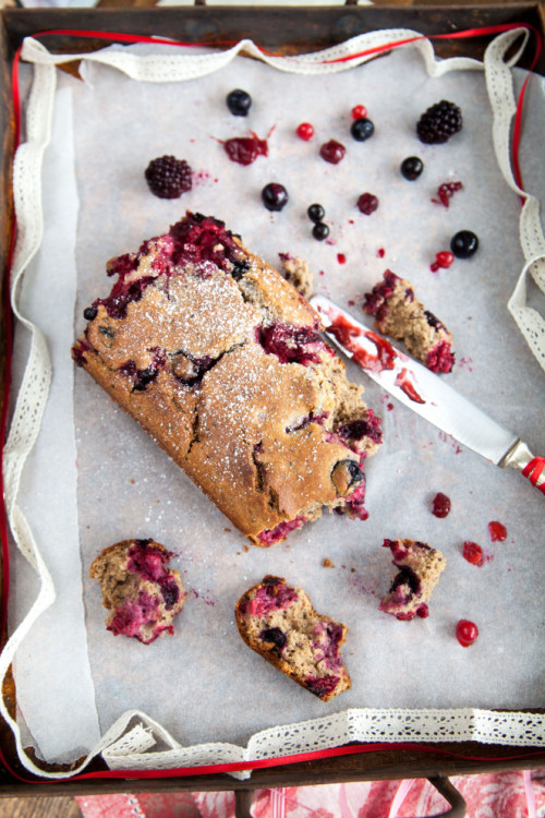 Picture for Buckwheat and Berry Cake