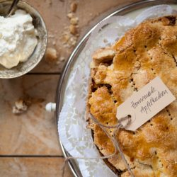 Bild für Tante Lisis Gedeckter Apfelkuchen