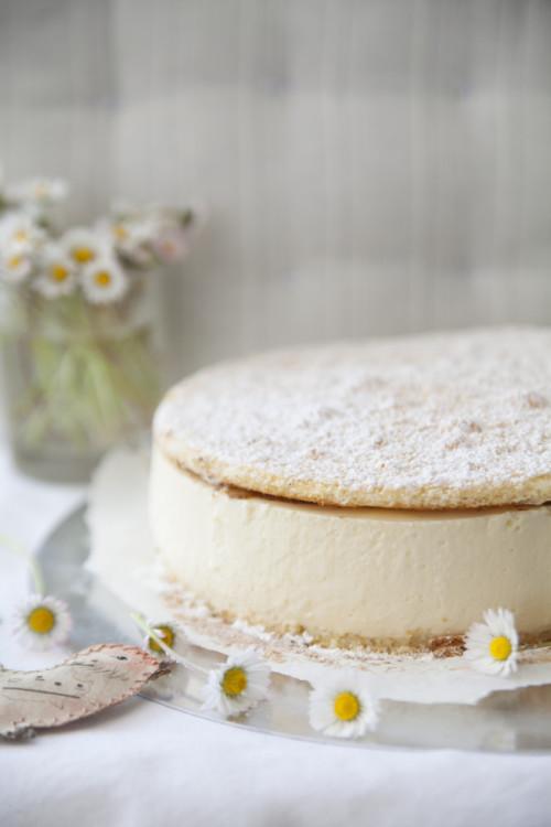 Bild für Luftig, leichte Topfen-Sahne Torte