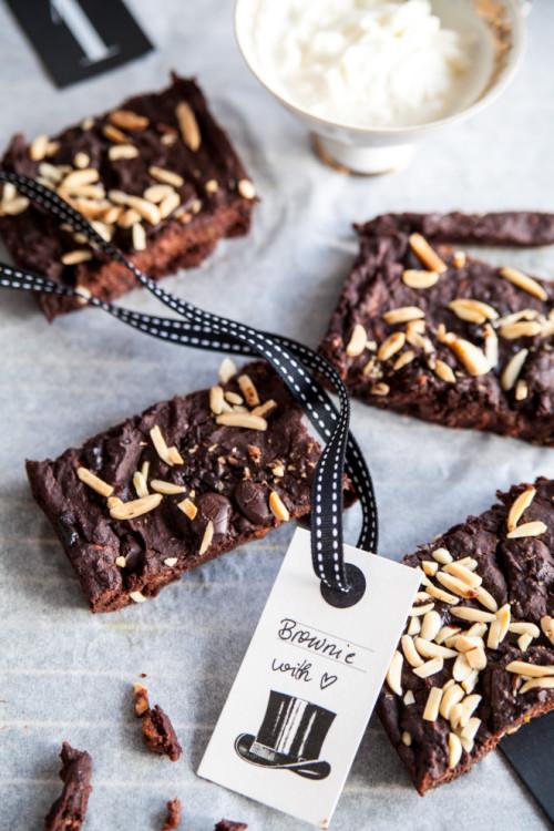 Bild für Guilt-free, gluten-free & vegan Brownie