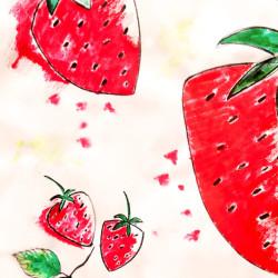 Bild für Selbstgemachtes Erdbeereis & über die Königin des Gartens