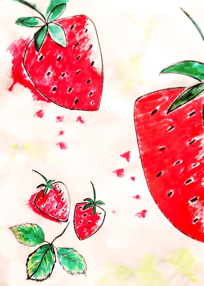 Selbstgemachtes Erdbeereis & über die Königin des Gartens