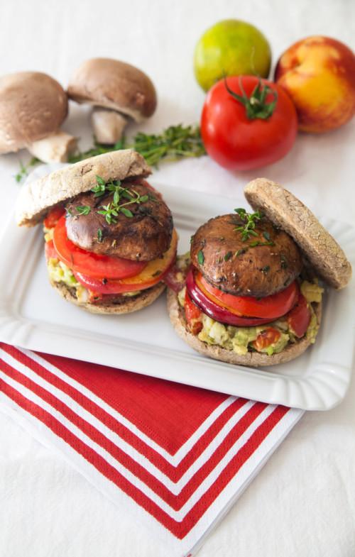 Bild für Veganer Portobello Burger