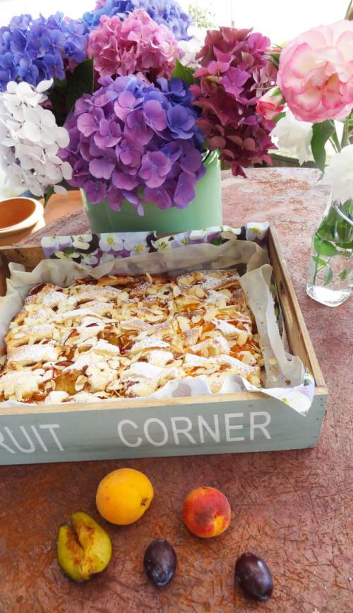 Bild für Ofenfrischer Marillenkuchen vom Blech