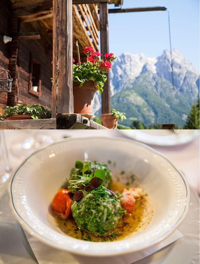 Schnuraln in Salzburg Leogang & Salzburger Erdäpfel Nudei