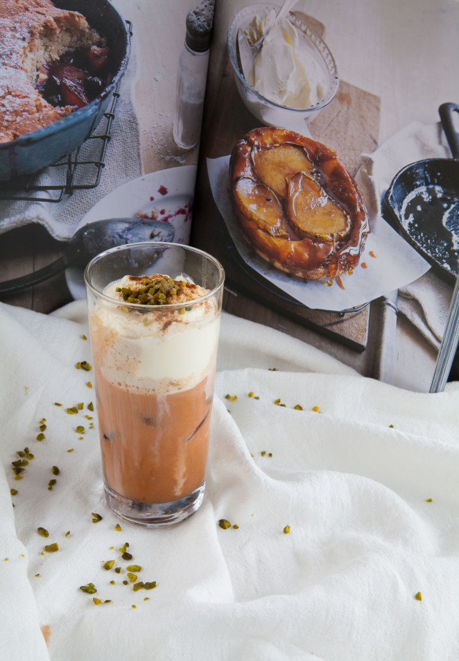 Creamy Iced Coffee with Carrot Juice