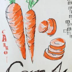 Bild für Suppito's lauwarmer Karotten-Rettichsalat