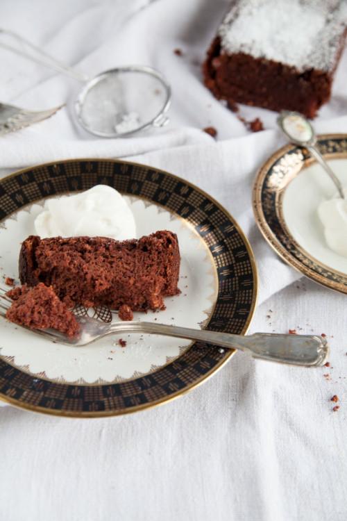 Bild für Gesunder & mehlfreier Schokoladekuchen