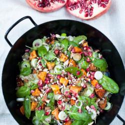 Bild für Quinoa Salat mit Granatapfel