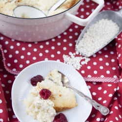 Bild für Reisauflauf mit Kokosmilch und Äpfeln