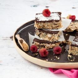 Bild für Energie Brownies mit Power-Gewürzen