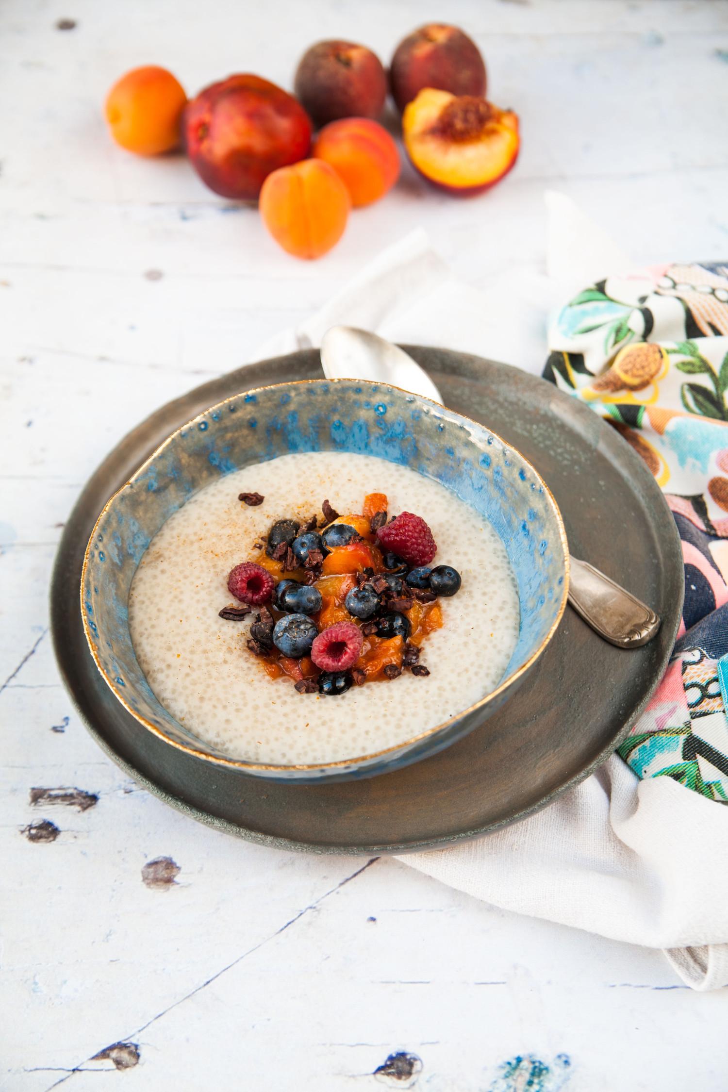 Sago Porridge & Paper Tiger