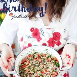 Bild für Happy 2nd Birthday Foodtastic