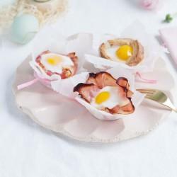 Bild für Drei Mal Eier-Muffins