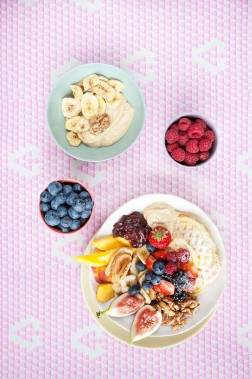 Bild für Waffel-Frühstücksbowl