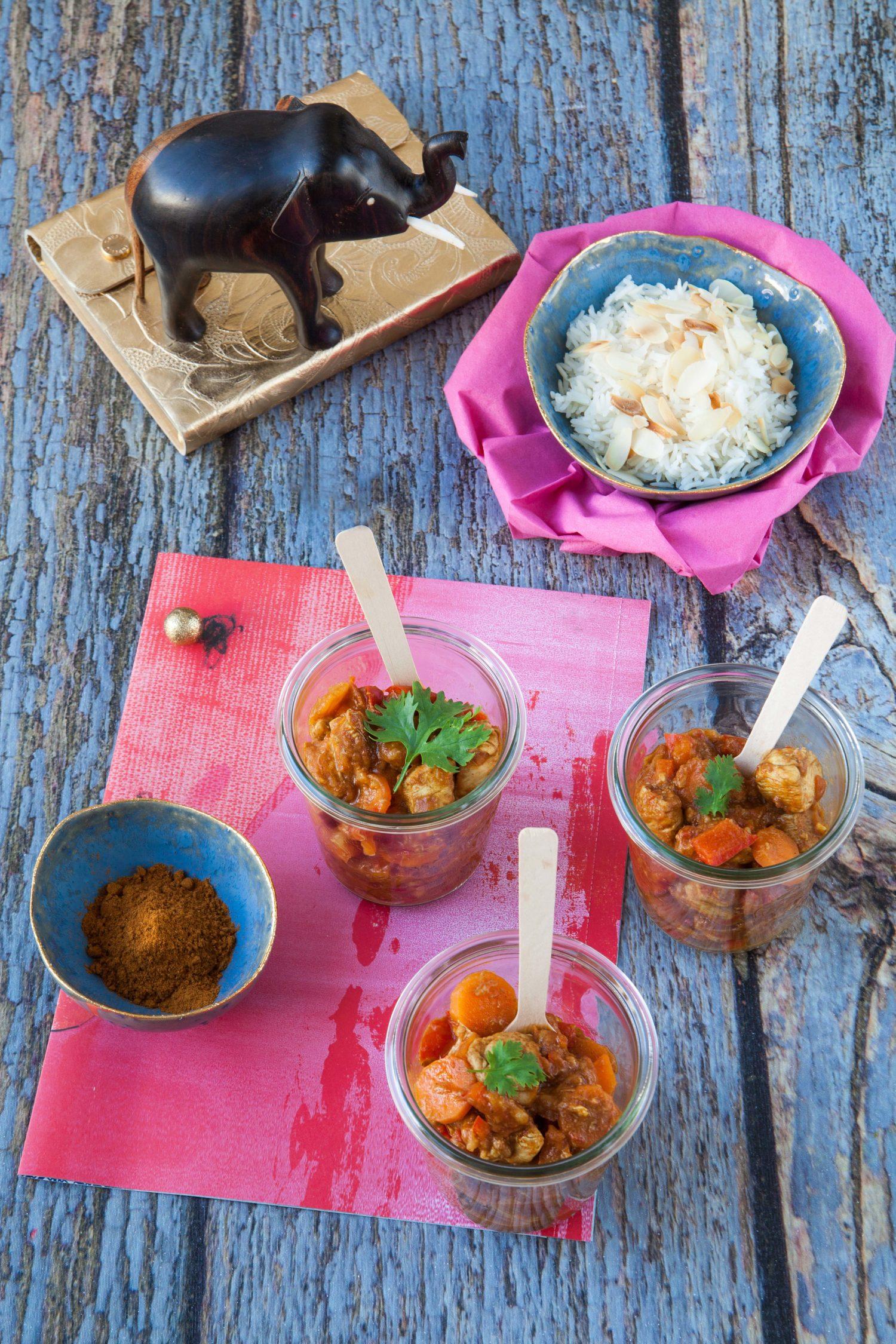 Tandoori Chicken Masala with Basmati Rice