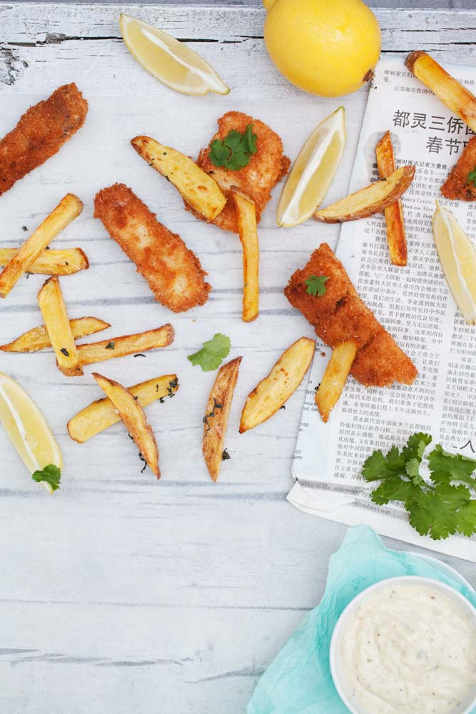 Coconut Fish and Chips