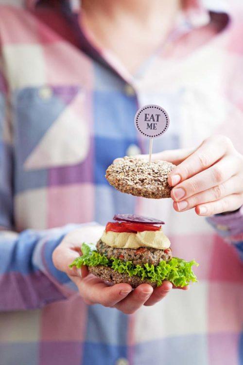 Bild für Paleo Burger