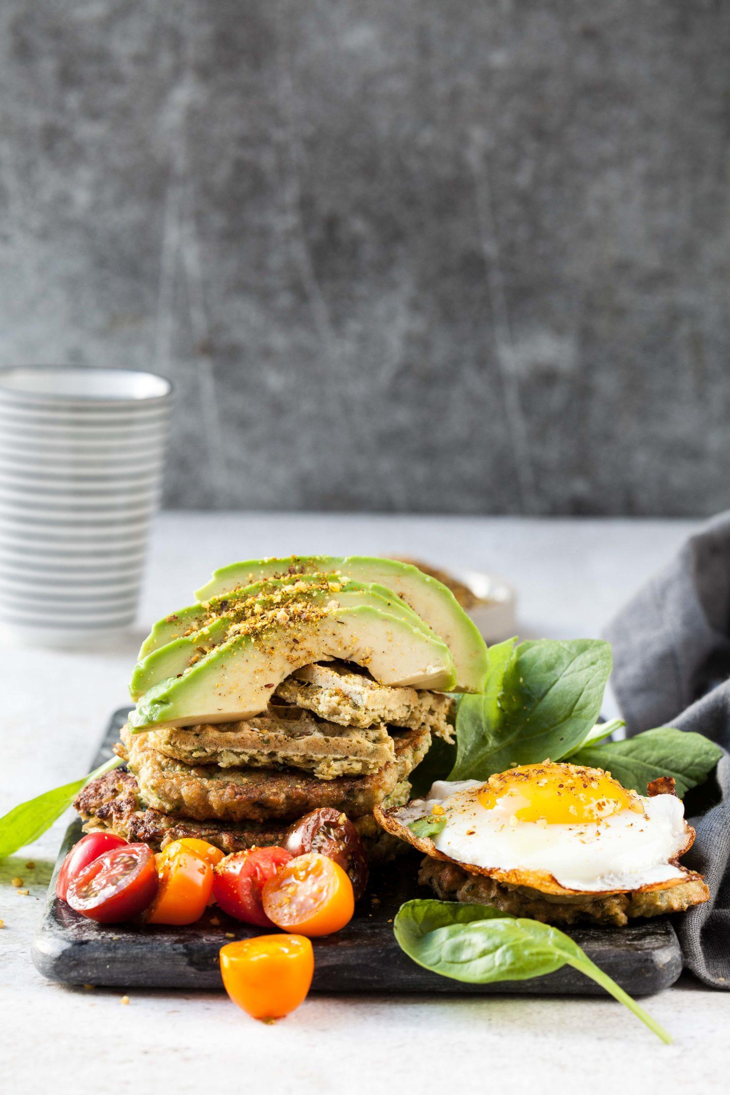 Power Spinach Waffles & Pippi Longstocking