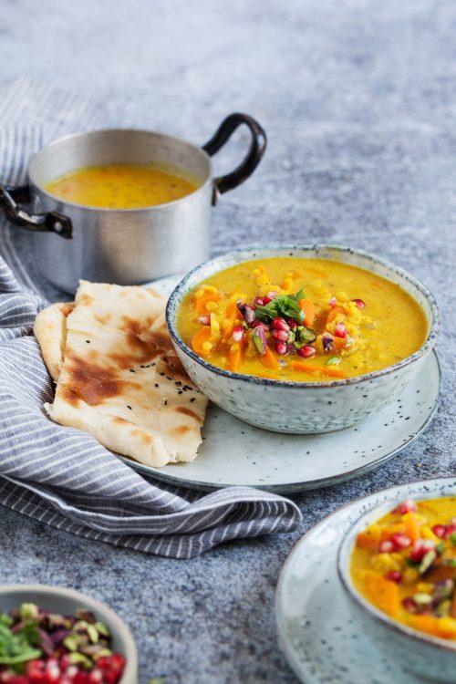 Bild für Linsen-Curry Suppe