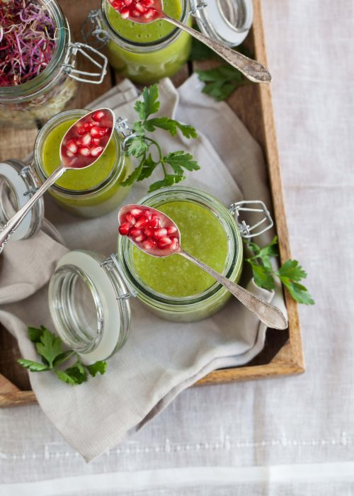 Bild für Grüne Detox Suppe