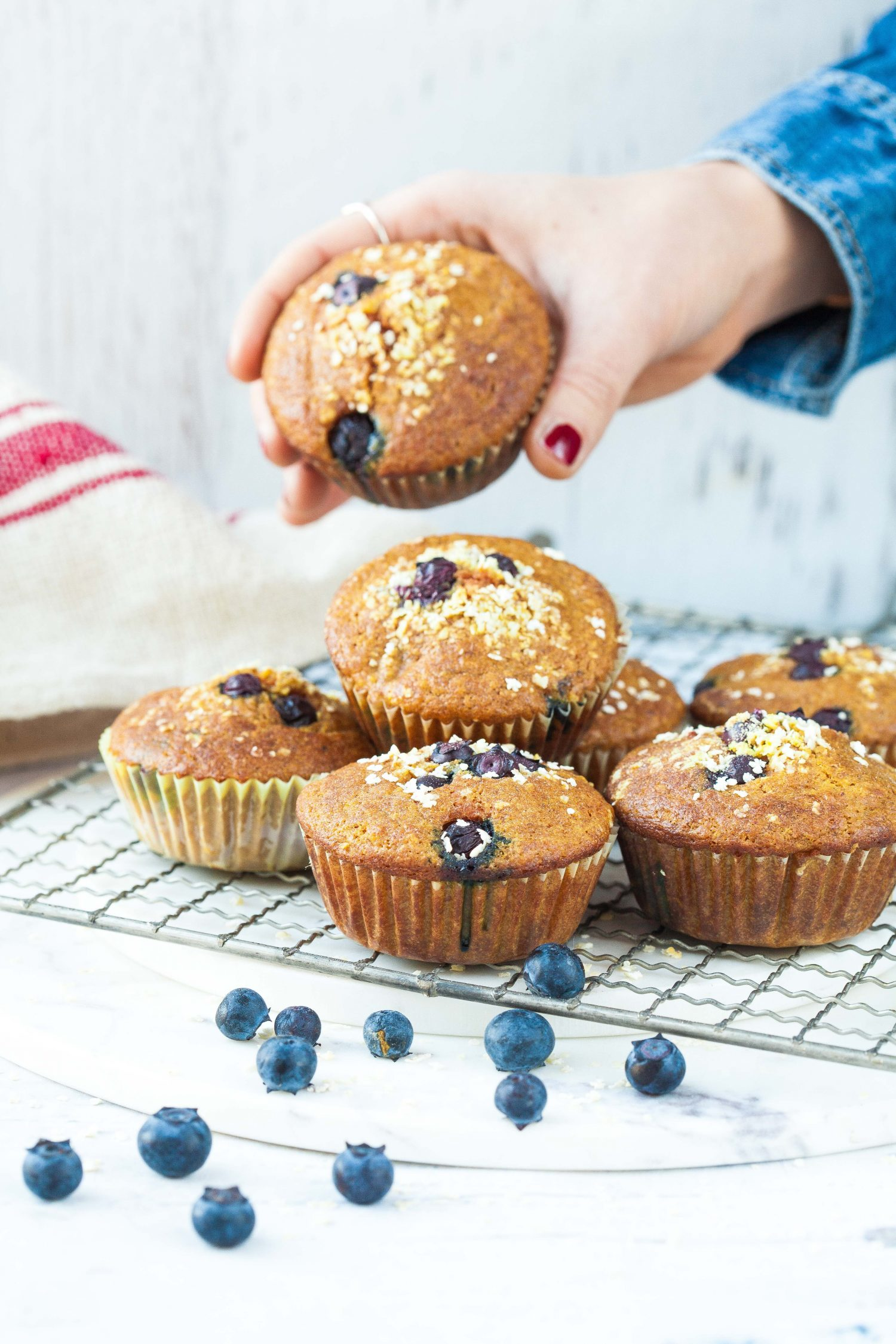 Millet and Turmeric Muffins