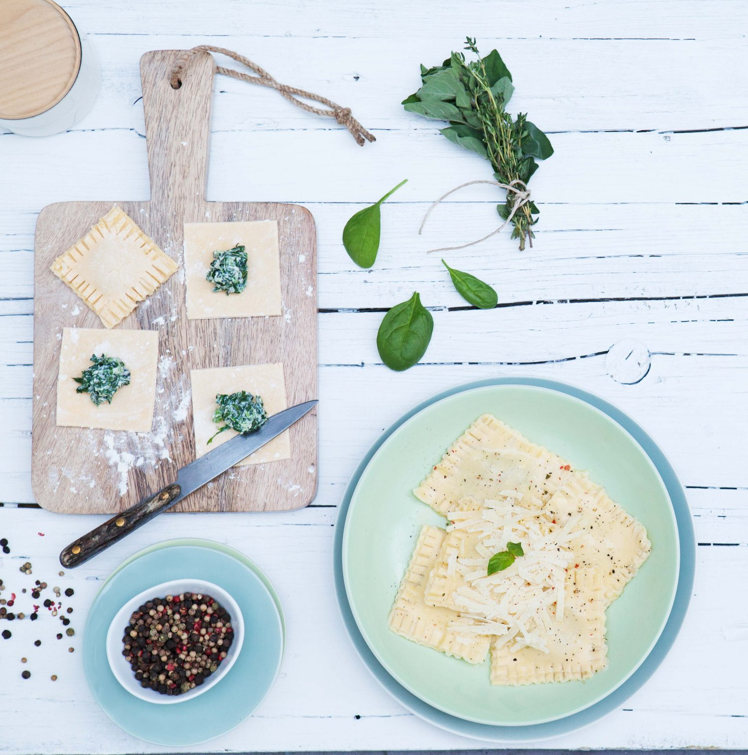 On Coeliac Disease and Gluten-Free Ravioli