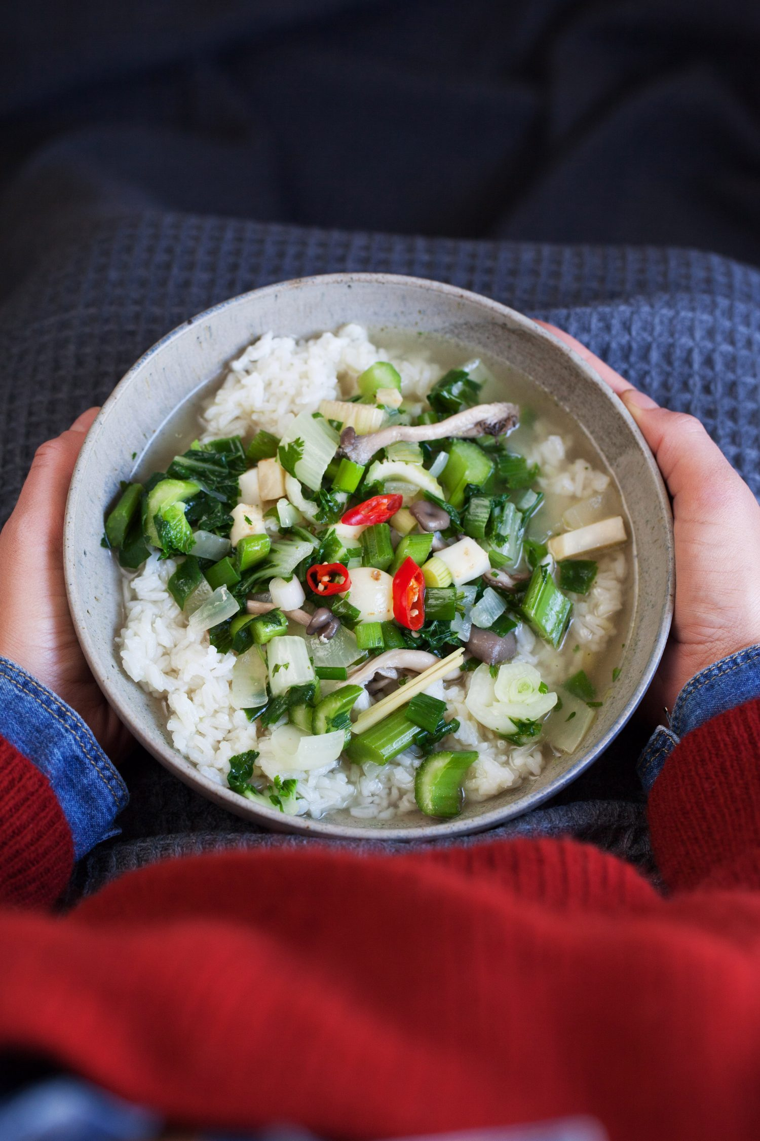 Rice Soups Deluxe!