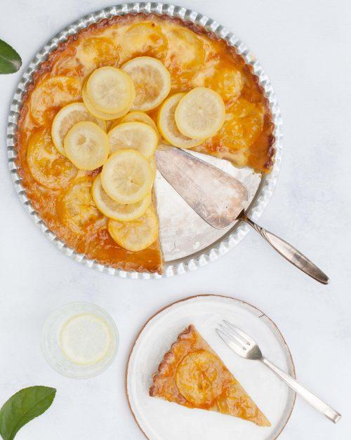 Bild für Zitronentarte für Ostern