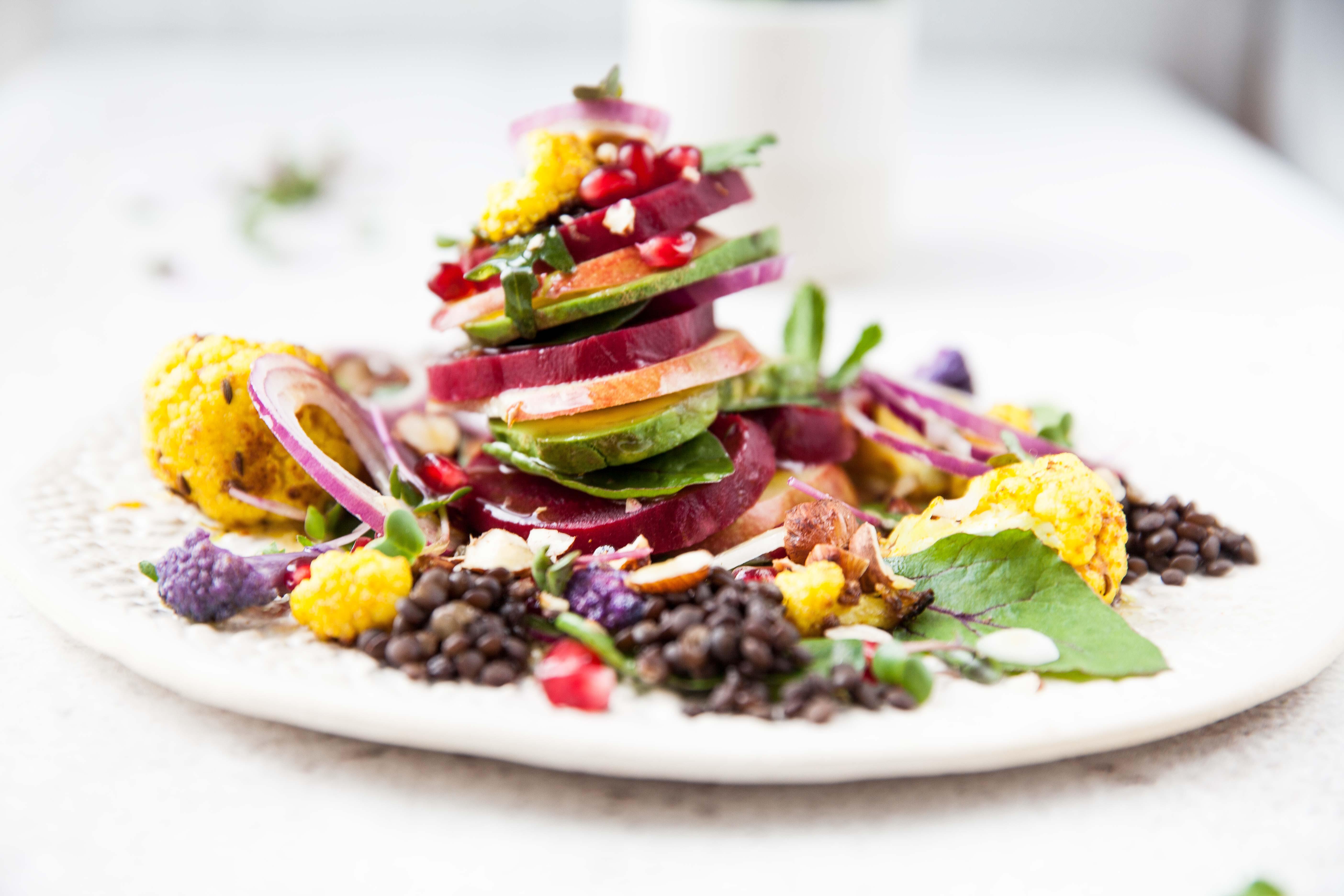bunter gem se obst salat foodtastic. Black Bedroom Furniture Sets. Home Design Ideas