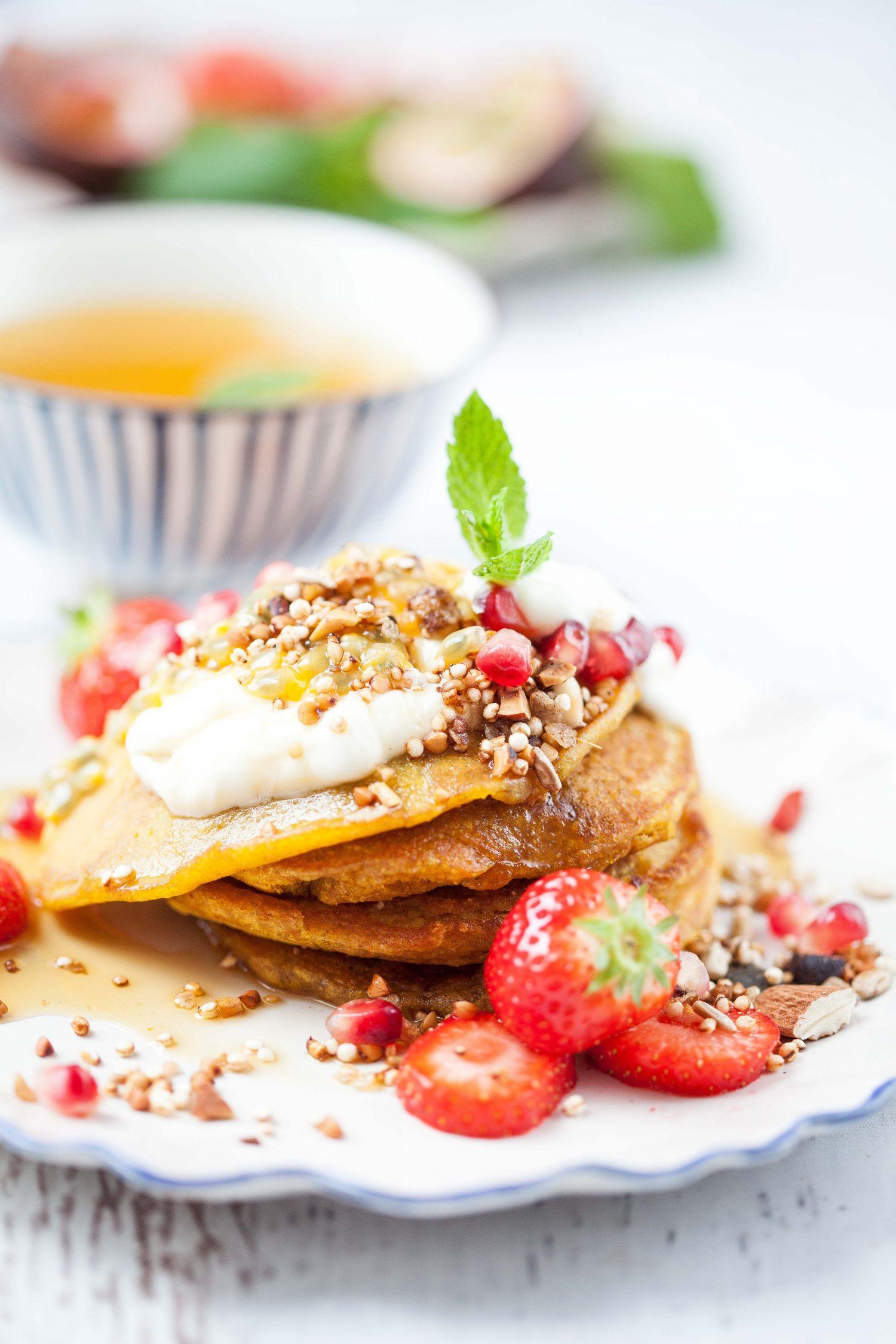 Kurkuma-Pancakes