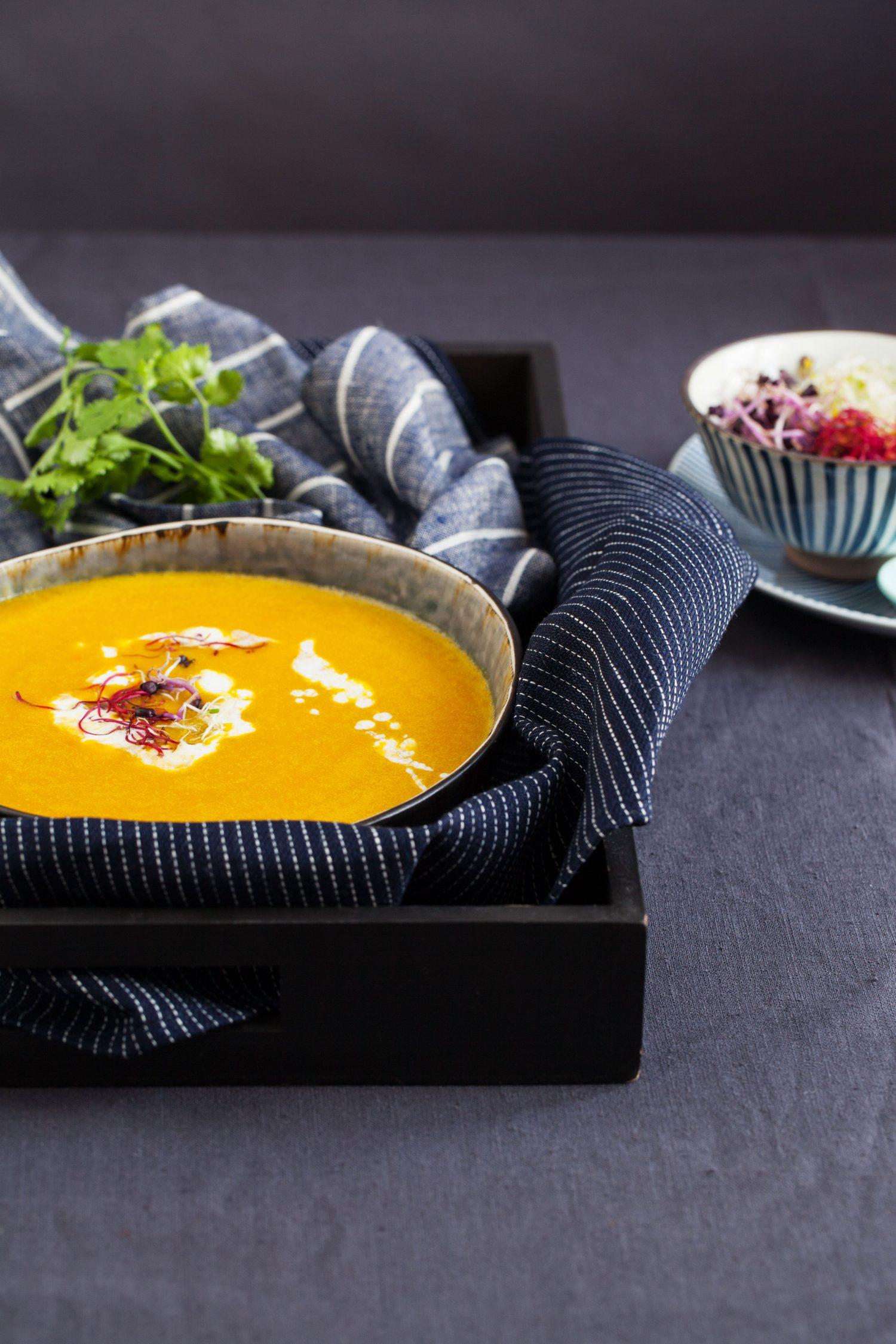 Pumpkin Soup, Asian Style