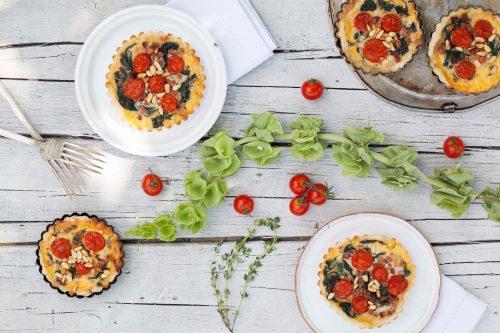 Bild für Mini-Quiche mit Tomaten & Speck