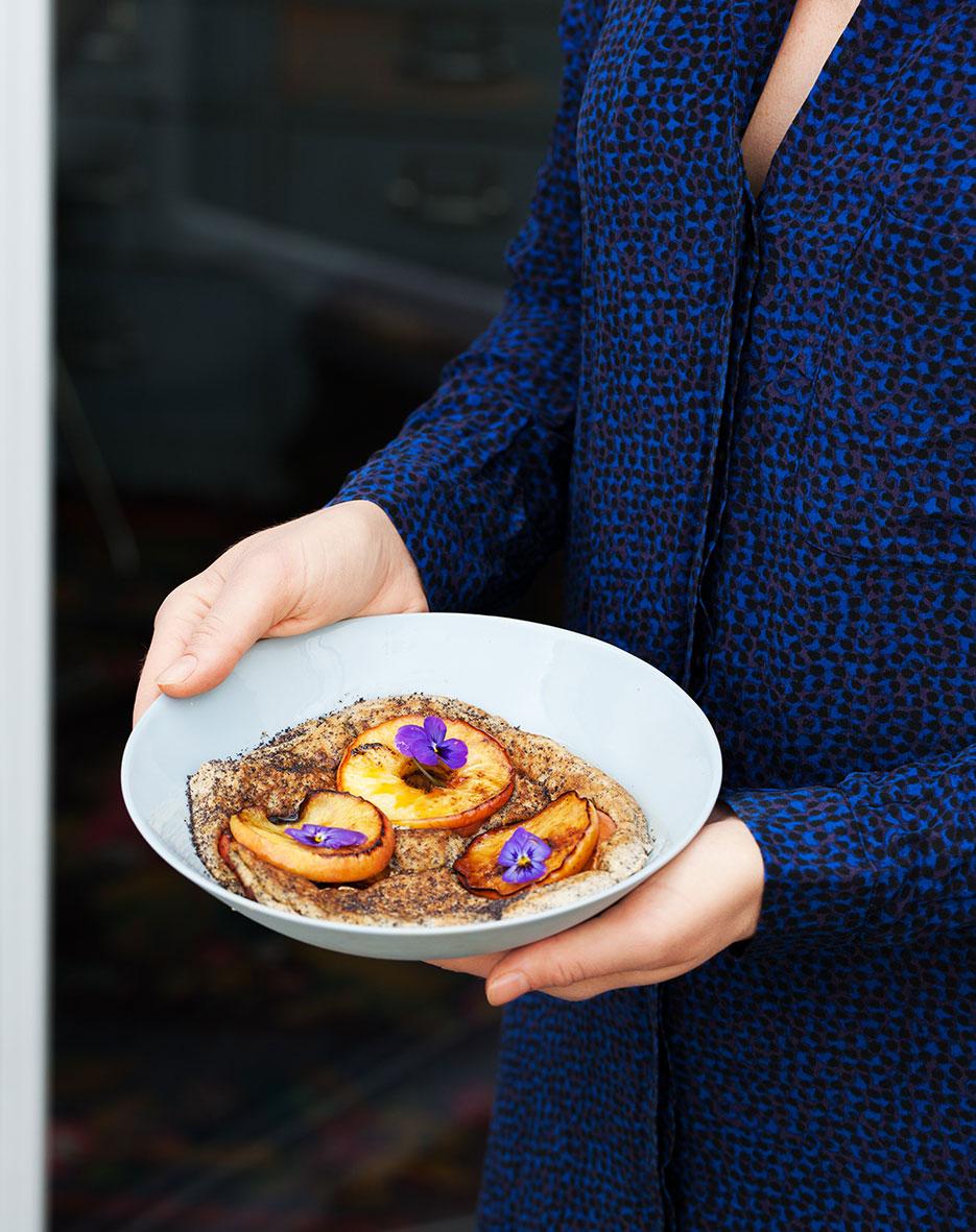 Apple and Poppy Seed Breakfast Omelette