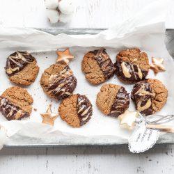 Bild für Vegane Erdnussmus-Cookies