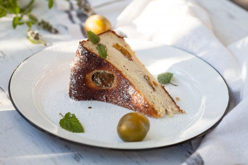 Bild für Glutenfreier Käsekuchen ohne Boden