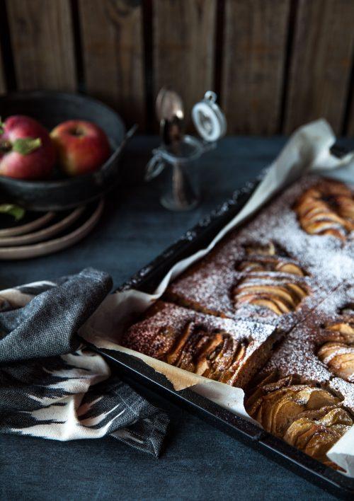 Bild für Apfel-Blechkuchen & Food Photography Workshop
