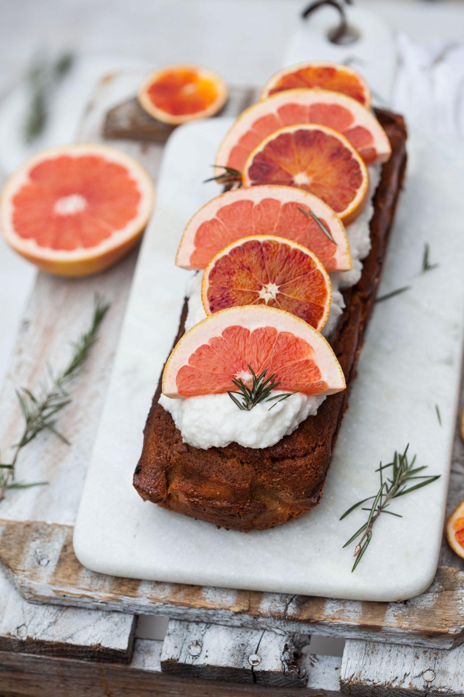 Kindred Spirit & Grapefruit Cake