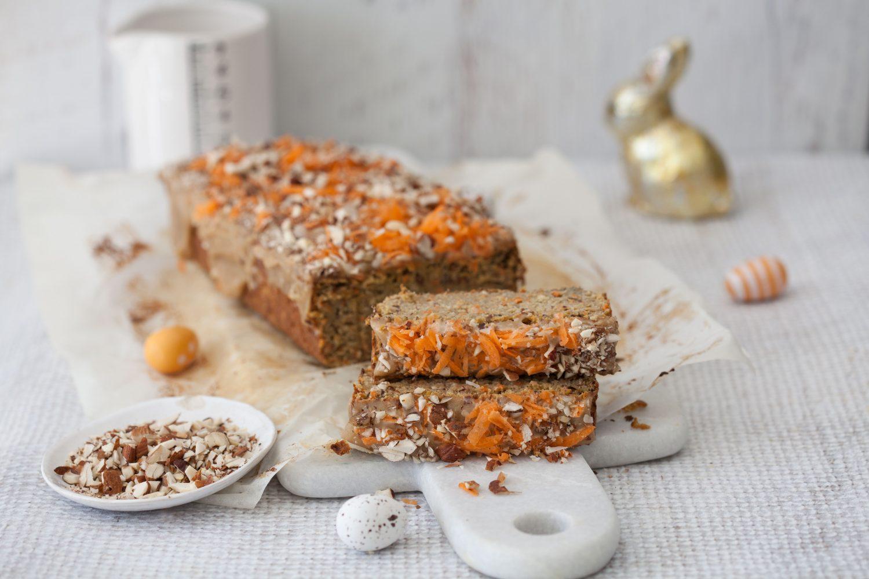 Frohe Ostern mit veganem Karottenkuchen