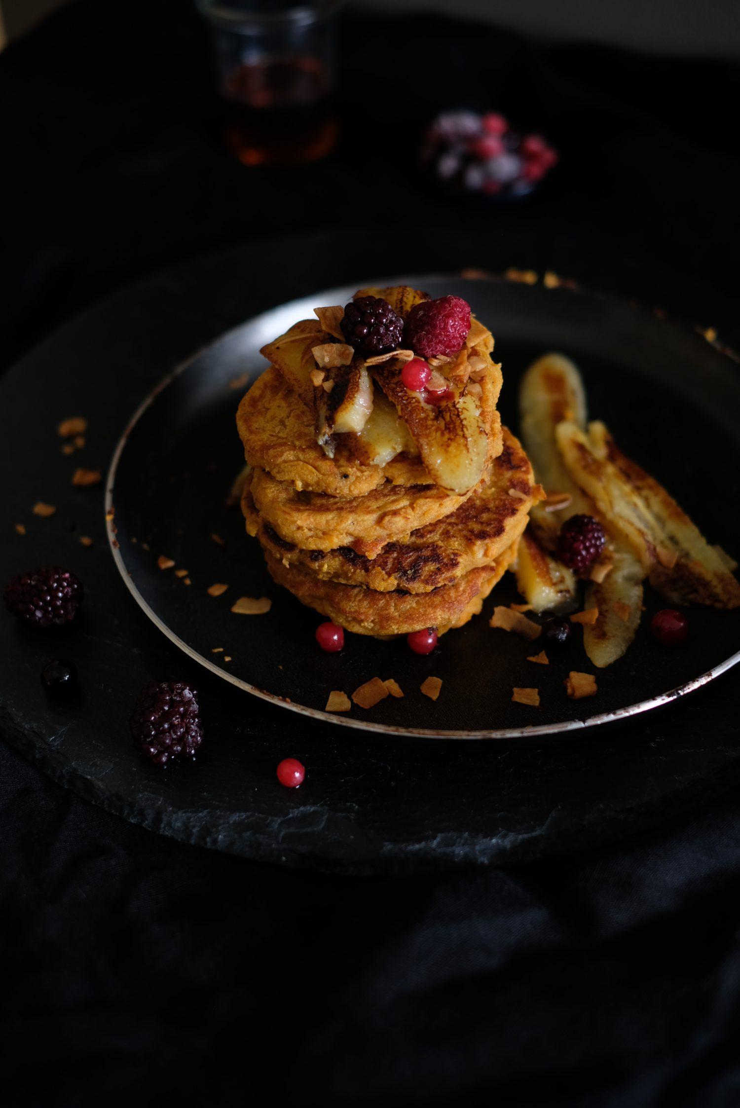 Neuseeland inspirierter Pancake