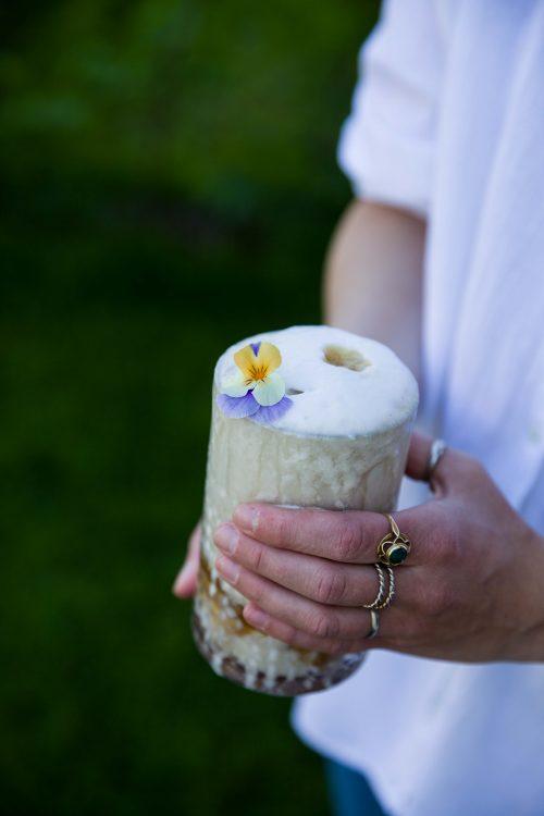 Bild für Frozen Banana Coffee Shake