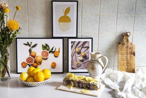 Bild für Zitrusfrüchte und Zitrus-Poster erfreuen mich